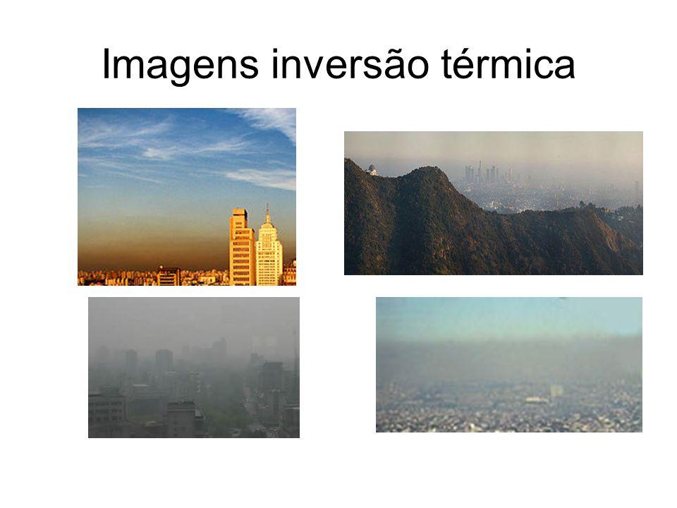 Imagens inversão térmica