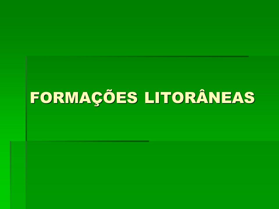 FORMAÇÕES LITORÂNEAS
