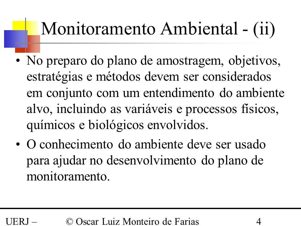 Monitoramento Ambiental - (ii)