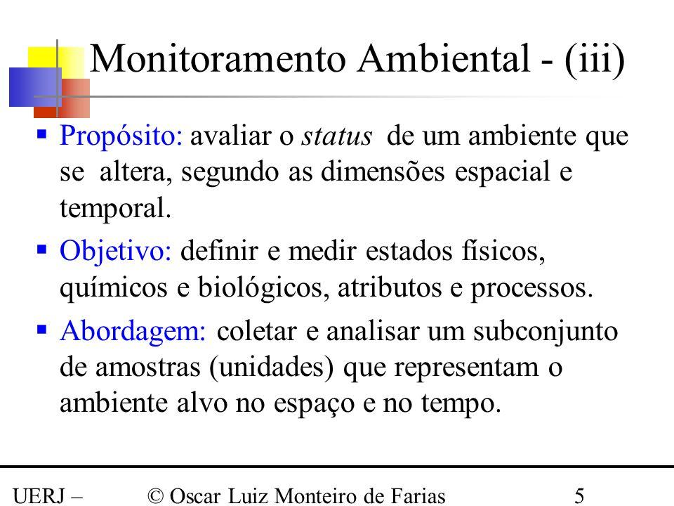 Monitoramento Ambiental - (iii)