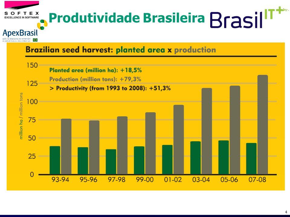 Produtividade Brasileira