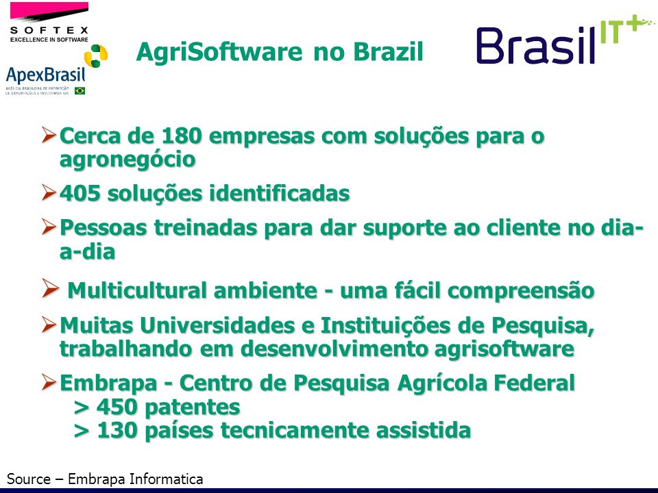 AgriSoftware no Brazil
