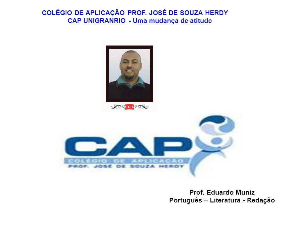 COLÉGIO DE APLICAÇÃO PROF. JOSÉ DE SOUZA HERDY