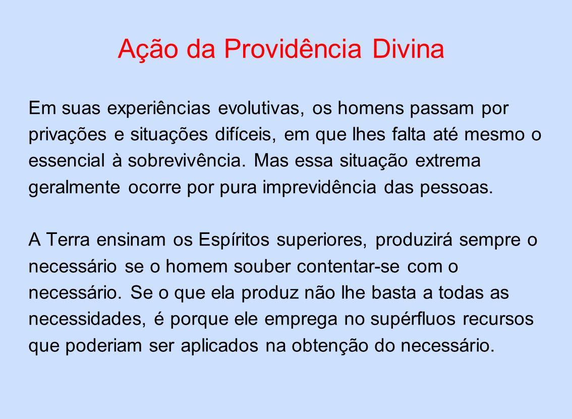 Ação da Providência Divina