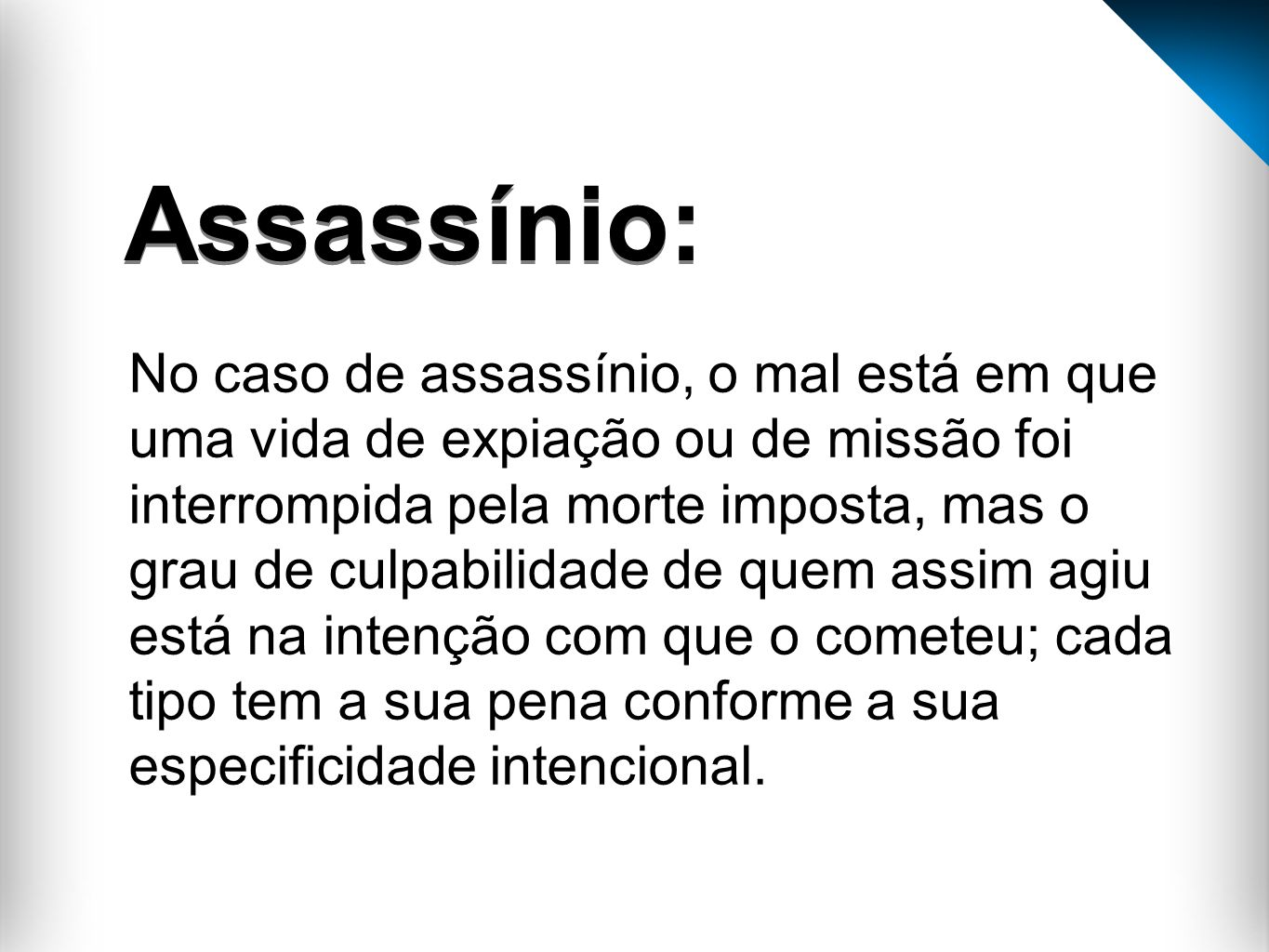 Assassínio:
