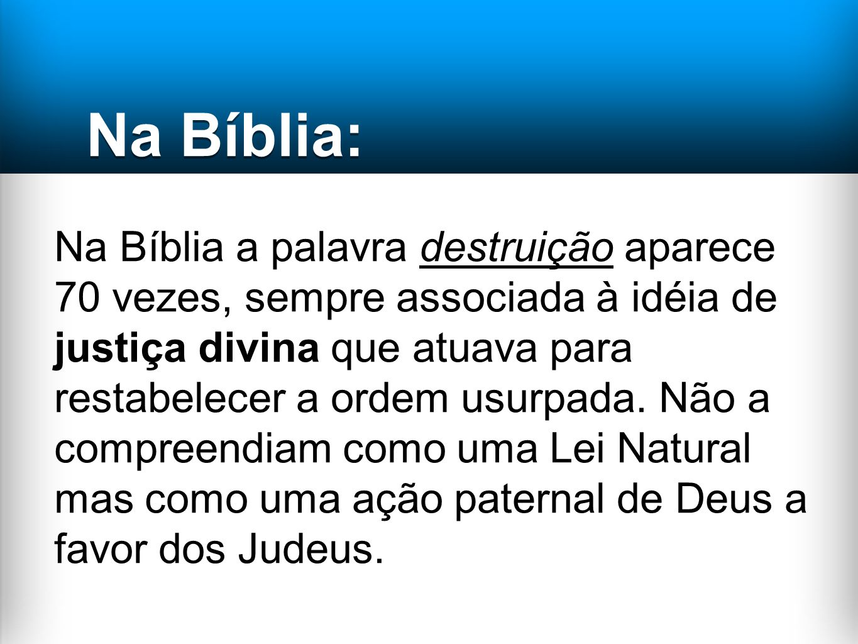 Na Bíblia: