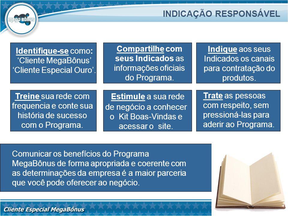 INDICAÇÃO RESPONSÁVEL