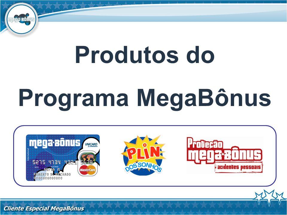 Produtos do Programa MegaBônus