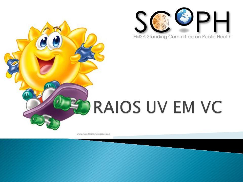 RAIOS UV EM VC