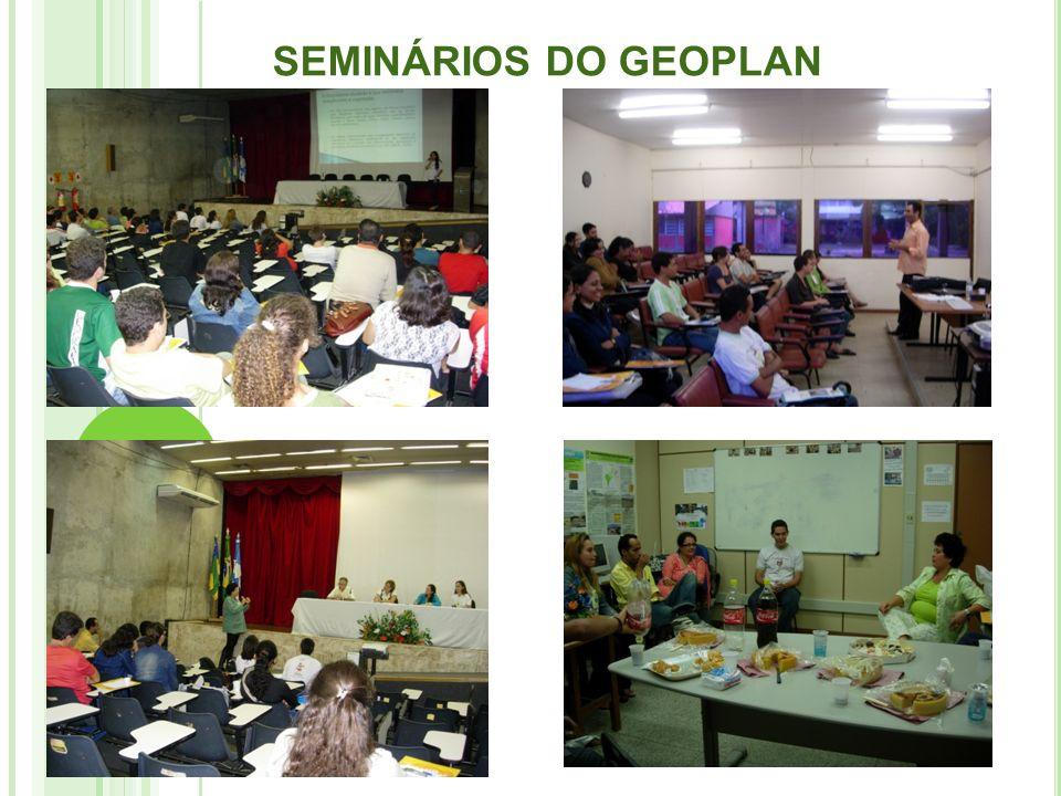 SEMINÁRIOS DO GEOPLAN