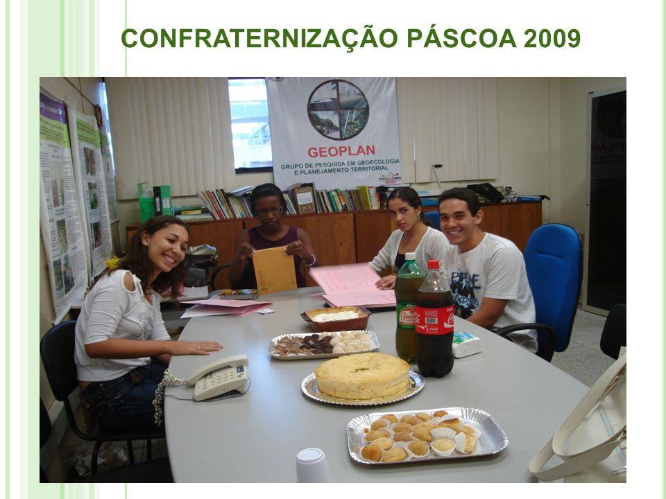 CONFRATERNIZAÇÃO PÁSCOA 2009