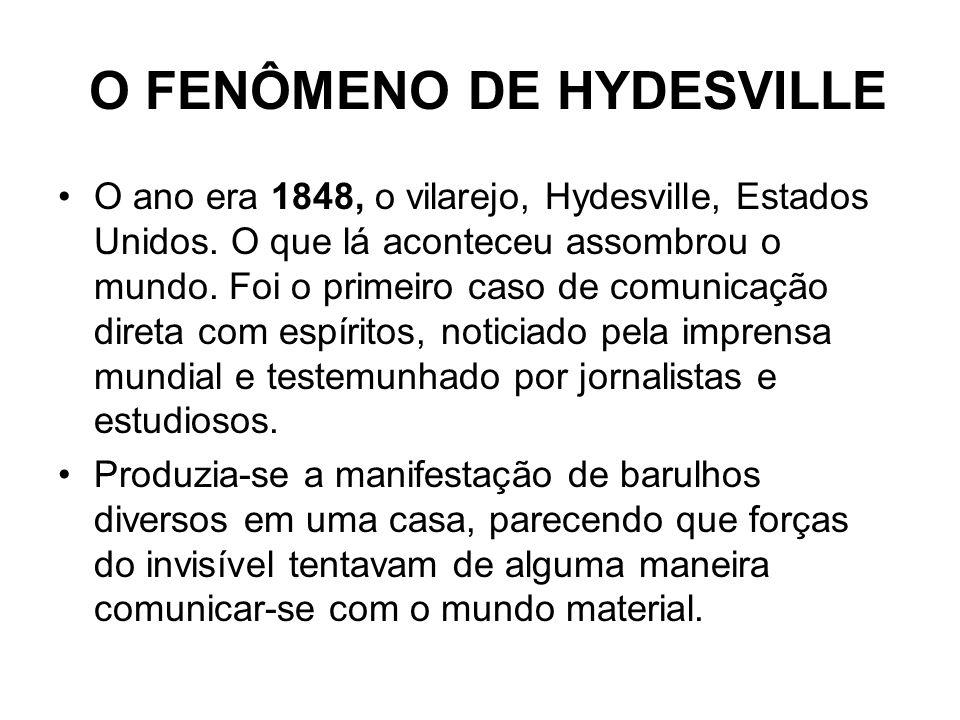 O FENÔMENO DE HYDESVILLE