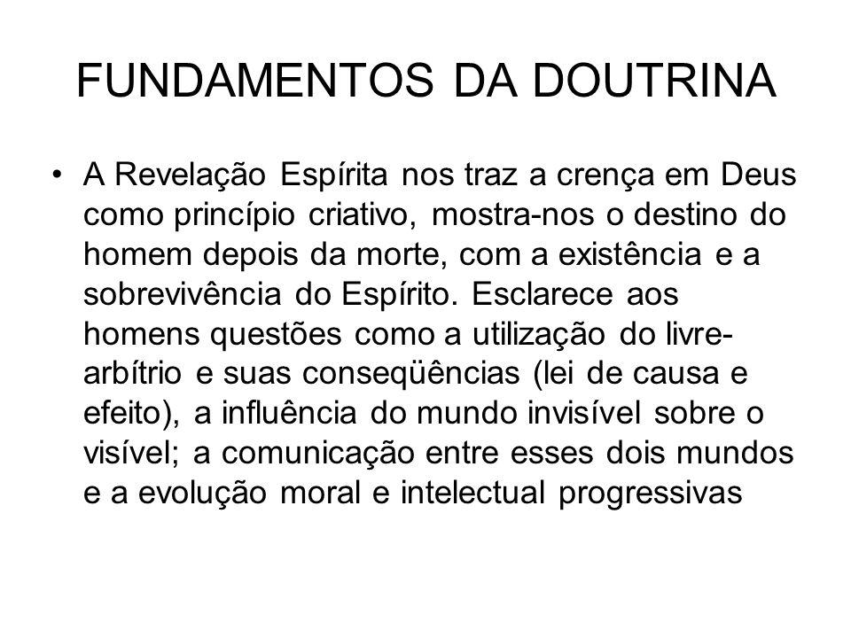 FUNDAMENTOS DA DOUTRINA