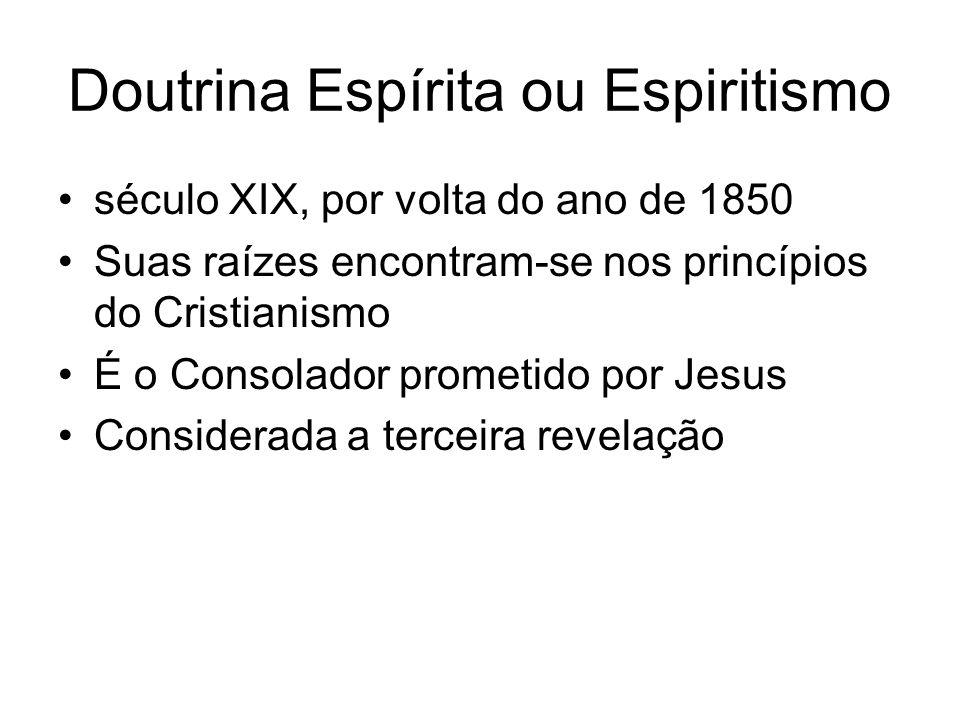 Doutrina Espírita ou Espiritismo