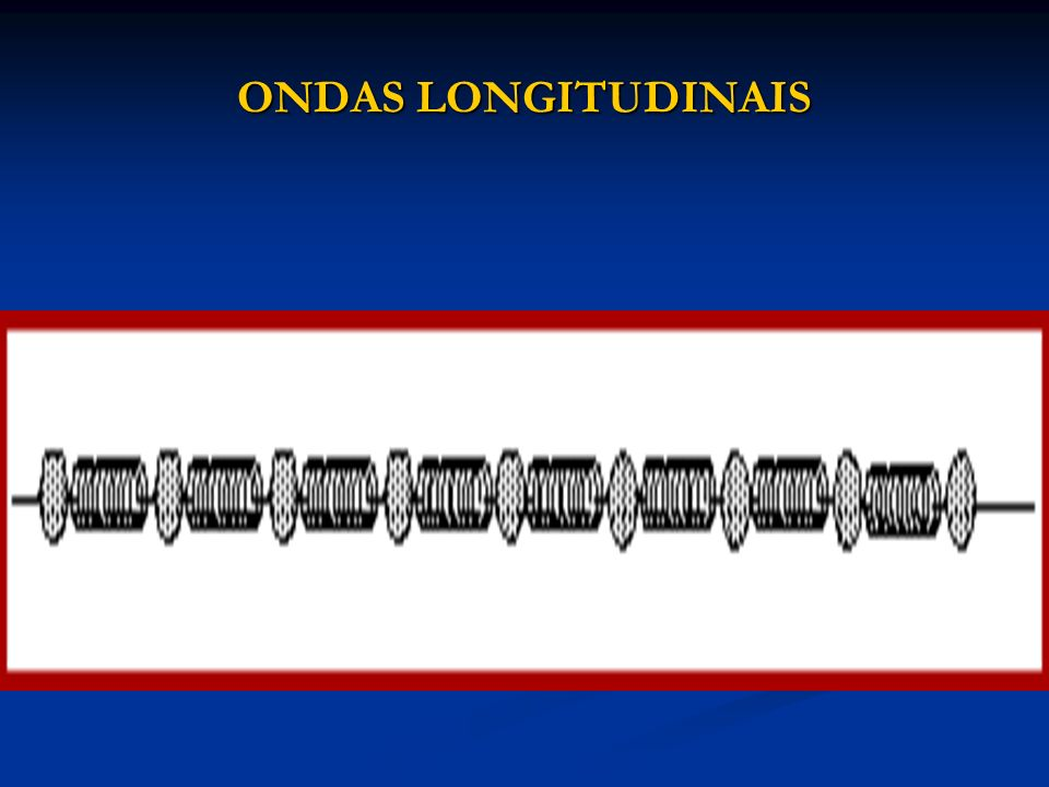 ONDAS LONGITUDINAIS