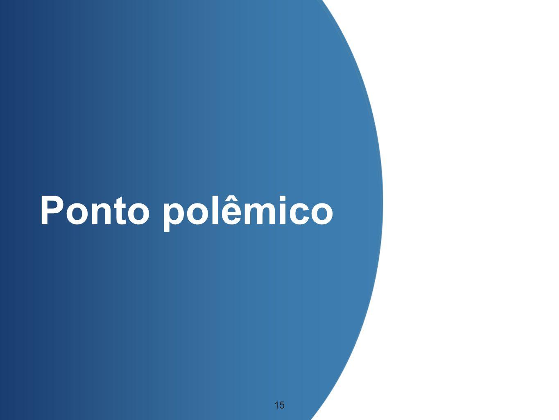 Ponto polêmico 15