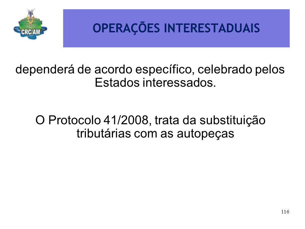 OPERAÇÕES INTERESTADUAIS