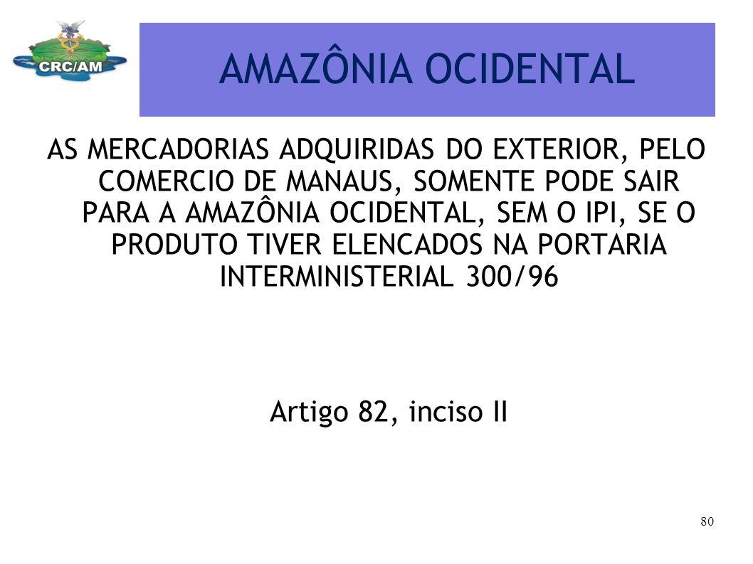 AMAZÔNIA OCIDENTAL