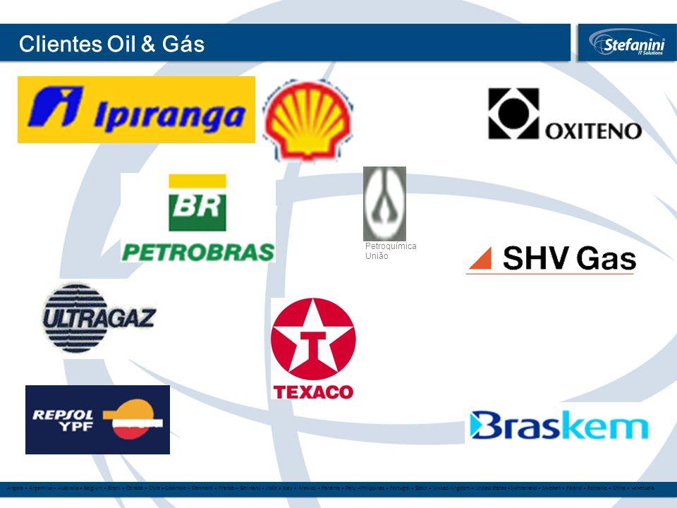 Clientes Oil & Gás Petroquímica União 16