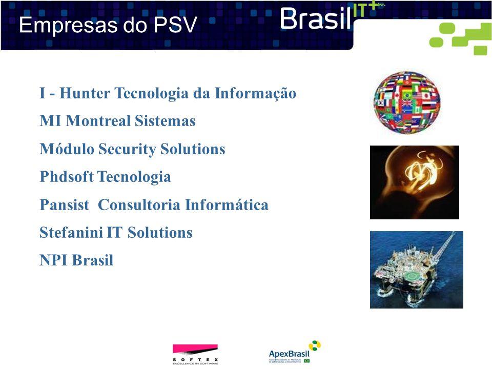 Empresas do PSV I - Hunter Tecnologia da Informação