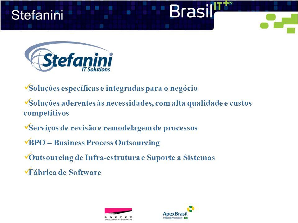 Stefanini Soluções específicas e integradas para o negócio