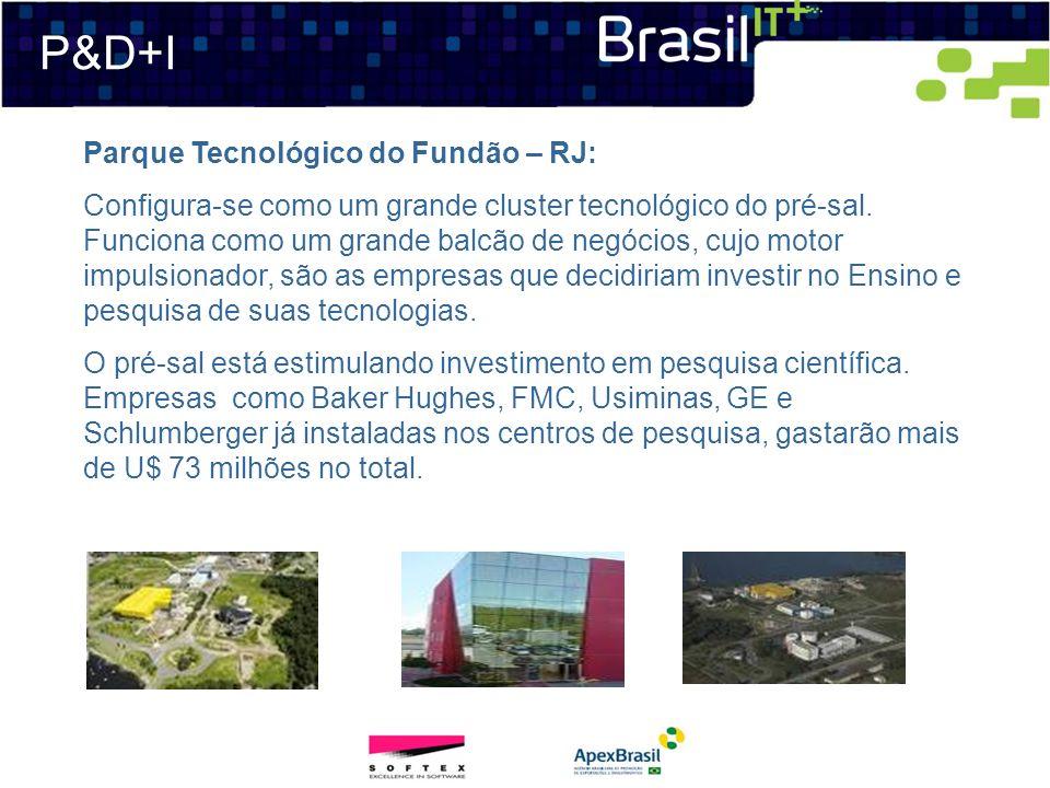 P&D+I Parque Tecnológico do Fundão – RJ: