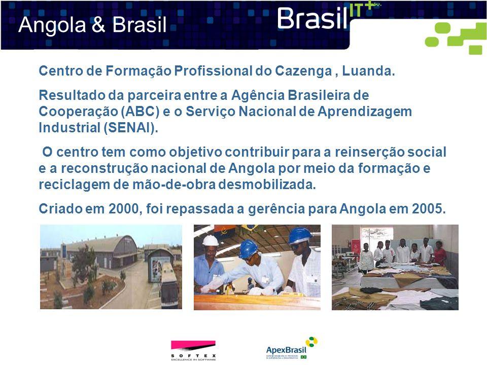 Angola & Brasil Centro de Formação Profissional do Cazenga , Luanda.