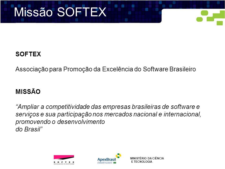 Missão SOFTEXSOFTEX. Associação para Promoção da Excelência do Software Brasileiro. MISSÃO.