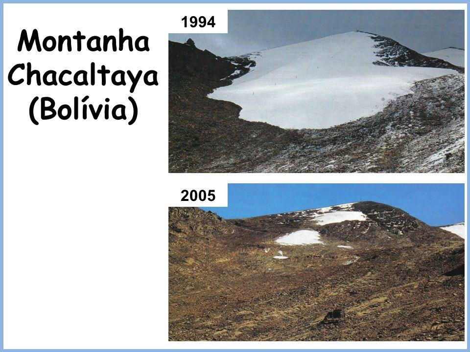 Montanha Chacaltaya (Bolívia)