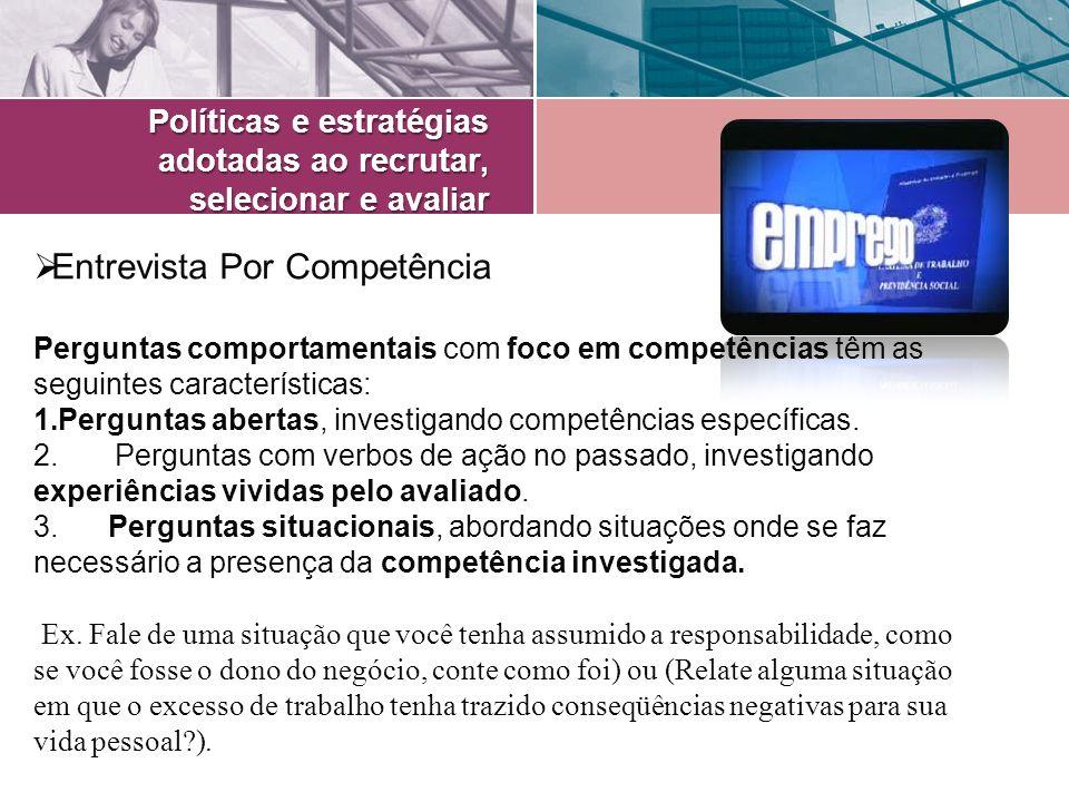 Entrevista Por Competência