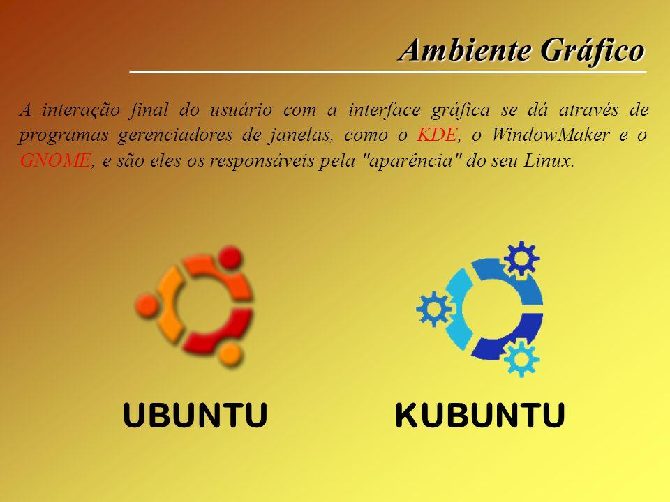 Ambiente Gráfico UBUNTU KUBUNTU