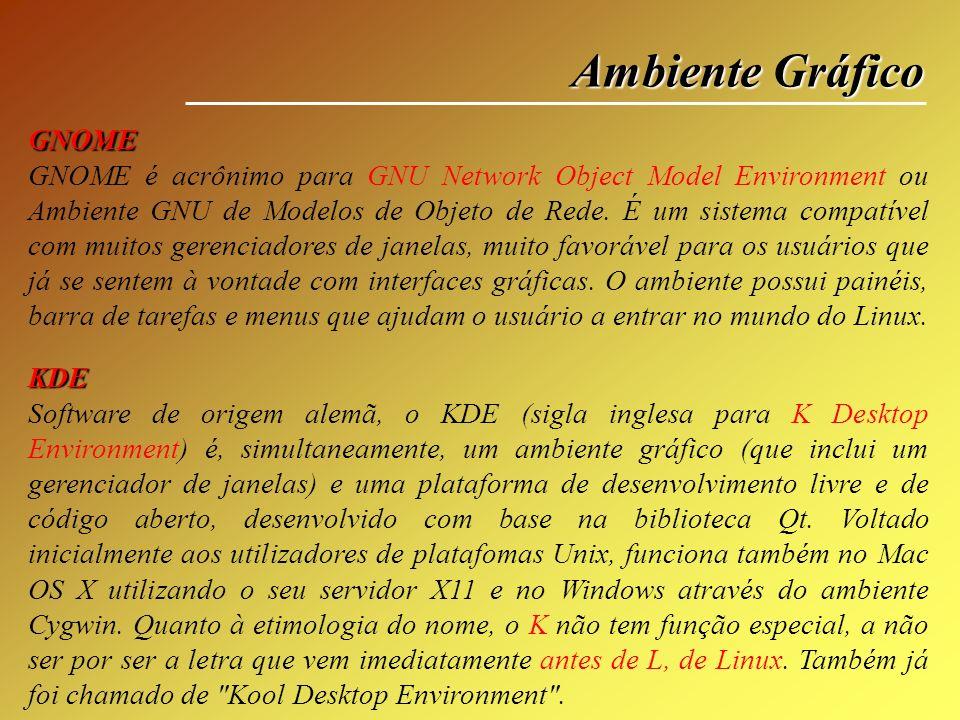 Ambiente Gráfico GNOME