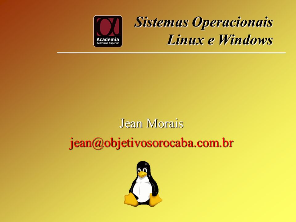 Jean Morais jean@objetivosorocaba.com.br