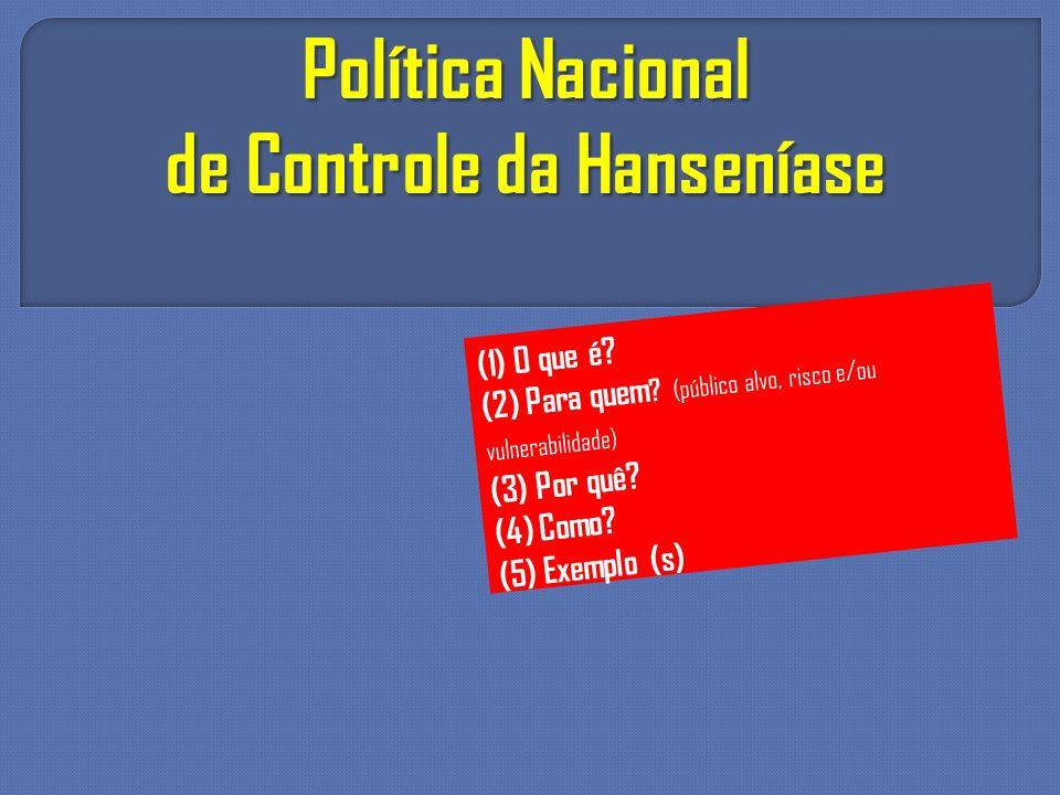 de Controle da Hanseníase