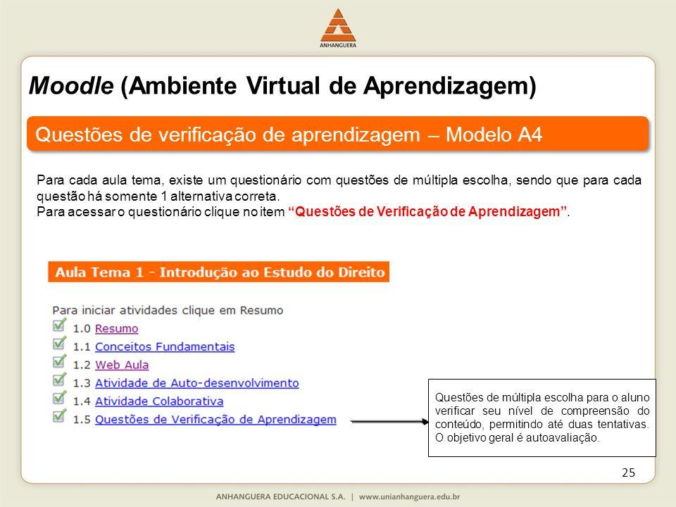 Moodle (Ambiente Virtual de Aprendizagem)
