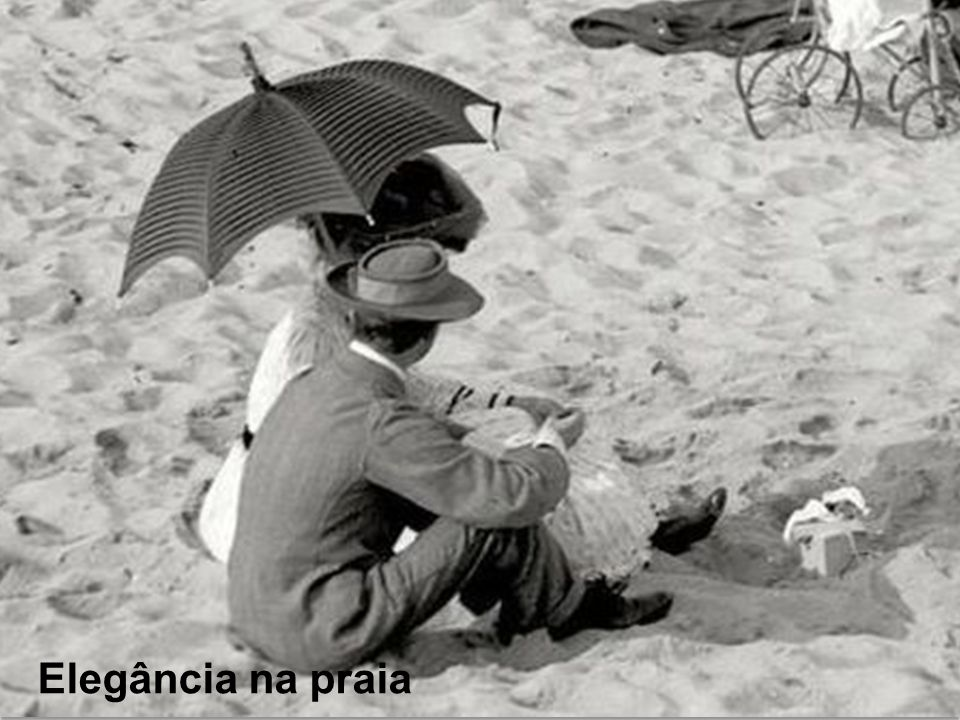 Elegância na praia