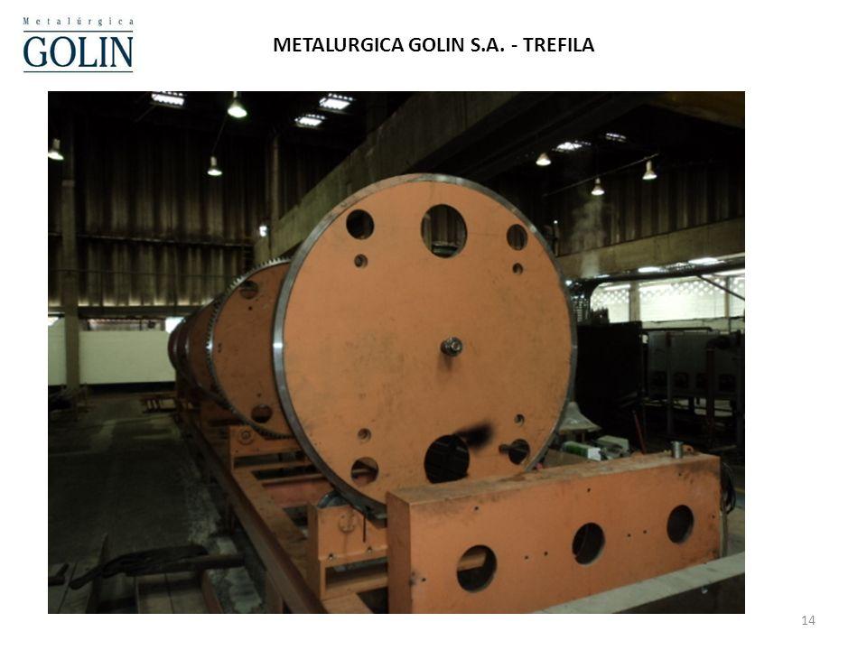 METALURGICA GOLIN S.A. - TREFILA