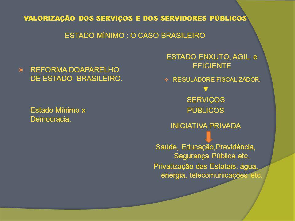 ESTADO ENXUTO, AGIL e EFICIENTE
