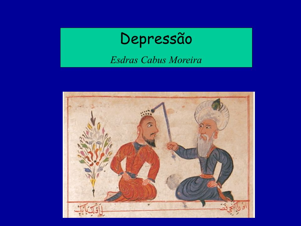 Depressão Esdras Cabus Moreira