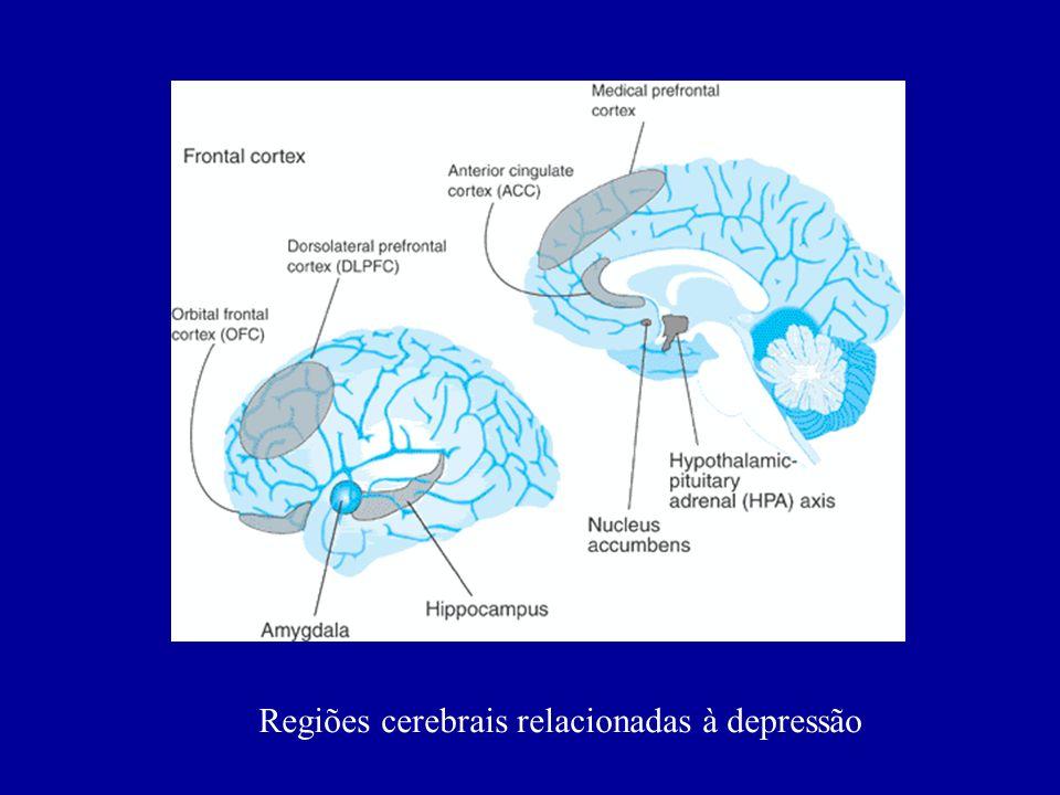 Regiões cerebrais relacionadas à depressão