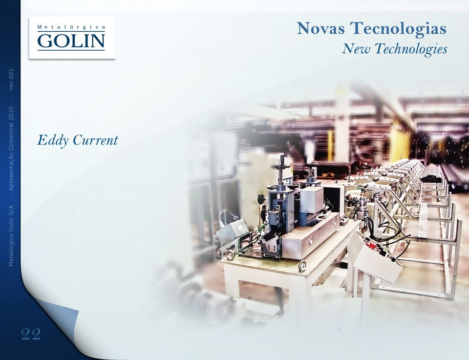 Novas Tecnologias New Technologies Eddy Current DFDFD