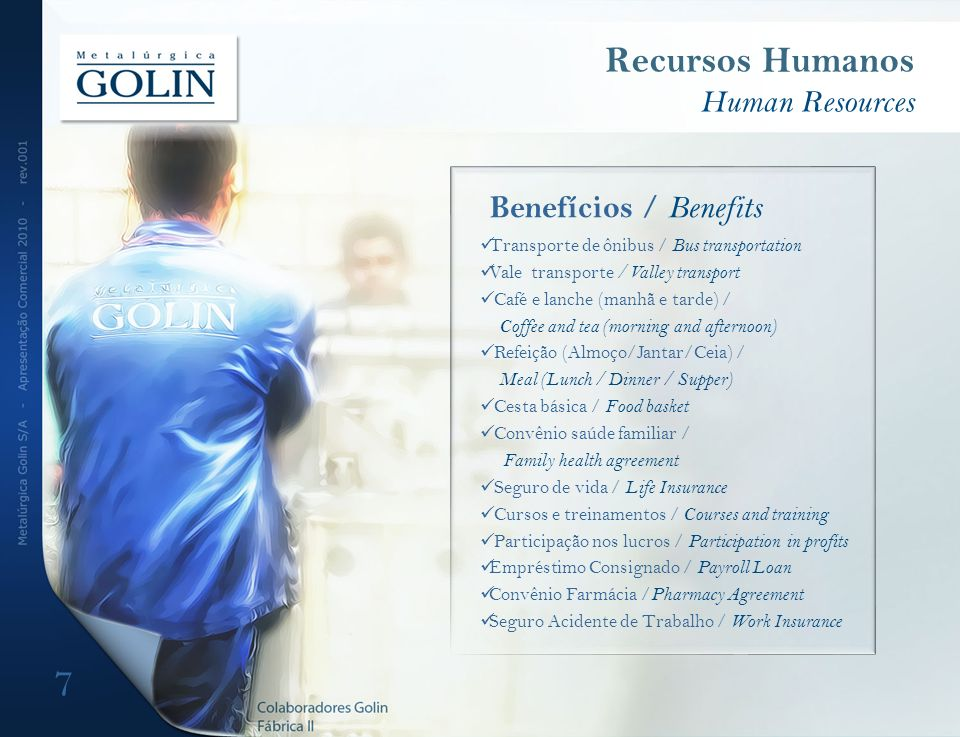 Recursos Humanos Human Resources