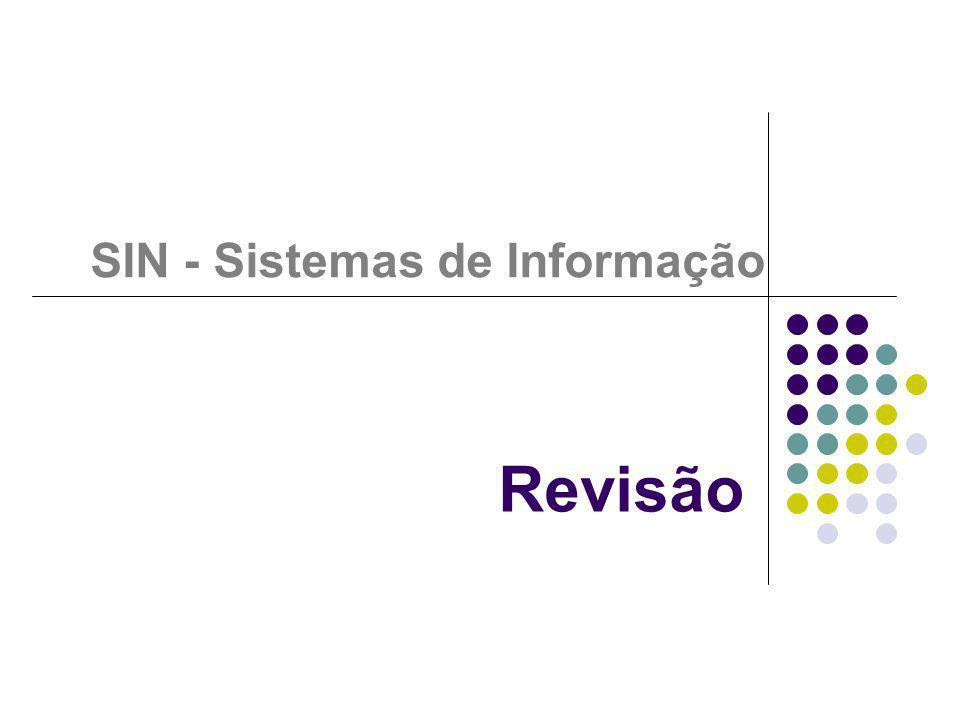 SIN - Sistemas de Informação
