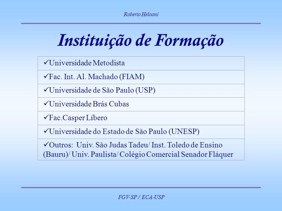 Instituição de Formação