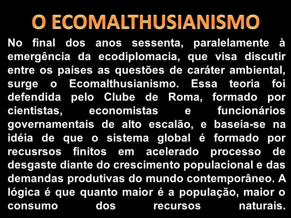 O ECOMALTHUSIANISMO