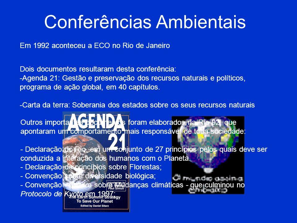 Conferências Ambientais