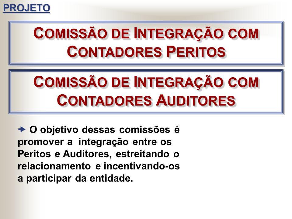 COMISSÃO DE INTEGRAÇÃO COM CONTADORES PERITOS