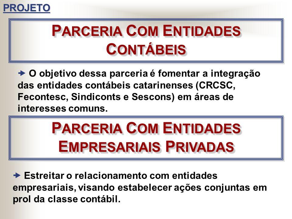 PARCERIA COM ENTIDADES CONTÁBEIS