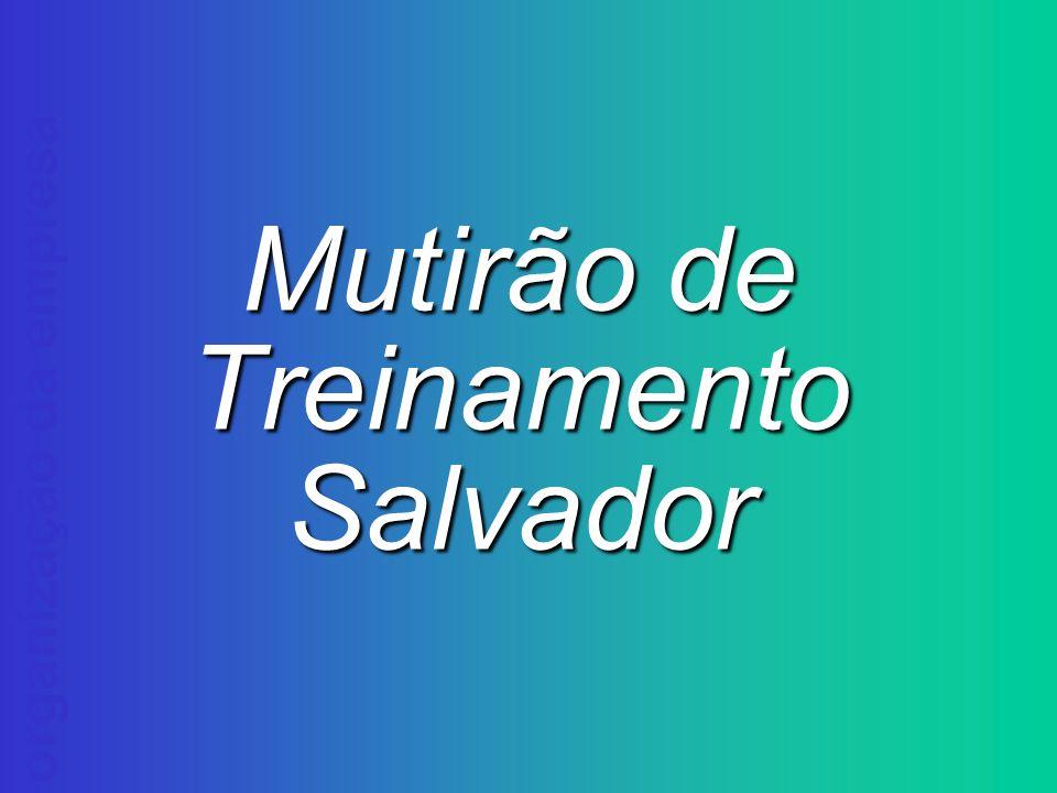 Mutirão de Treinamento Salvador