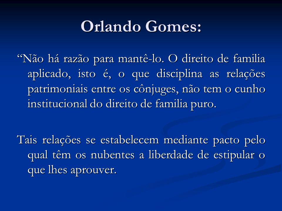 Orlando Gomes: